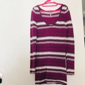 Free People Purple Dress
